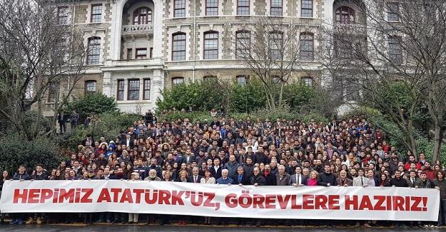 Boğaziçi Üniversitesi öğrencilerinden Beklenen büyük tepki geldi