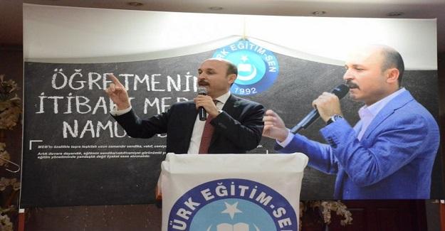 """GENEL BAŞKAN: """"YÖNETİCİ ATAMALARINDA BU KEZ HAK EDEN KAZANSIN."""""""