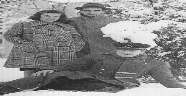 Osman Nuri Koçtürk (Tarhana Osman) Ankara Üniversitesi Veteriner Hekimlik Fakültesinde.(1940'lar)