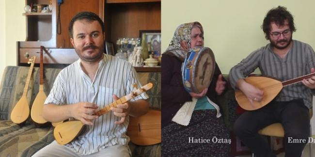 Tüm Köyleri tek tek Dolaşıp Anadolu Ezgilerini Kaydeden Emre Öğretmen