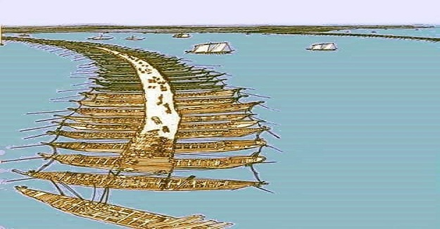 2500 yıl önce yapılan ilk Boğaz Köprüsü