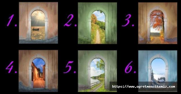 Bu 6 Kapıdan Hangisinden Girmek İsterdiniz? Hayattaki Yolunuzu Size Söyleyecek Olan Kapı Testi