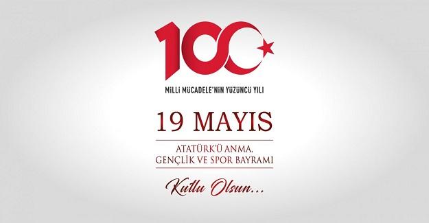 (DES) Genel Başkanı İshak Çelebi, 100. Yılı olması dolayısıyla ayrı bir önem kazanan 19 Mayıs Atatürk'ü Anma, Gençlik ve Spor Bayramı nedeniyle yayınladığı mesajda
