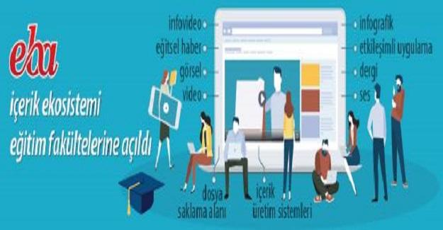 EBA'nın içerik ekosistemi eğitim fakültelerine açıldı