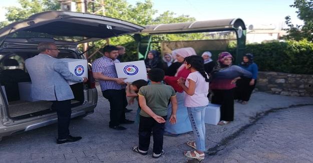 Eğitimcilerden Ramazan Yardımı