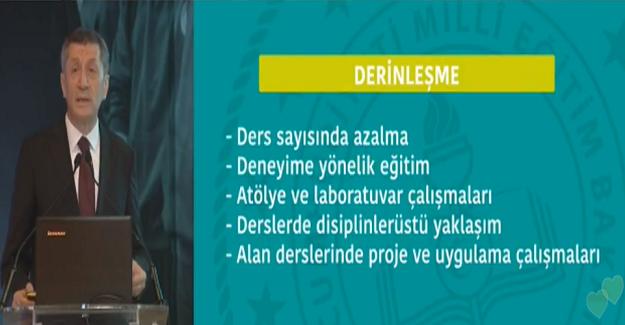 """Milli Eğitim Bakanı Ziya Selçuk, """"Ortaöğretim Tasarımı""""nı canlı yayında açıklıyor. İşte Yeni Sistemin Detayları"""