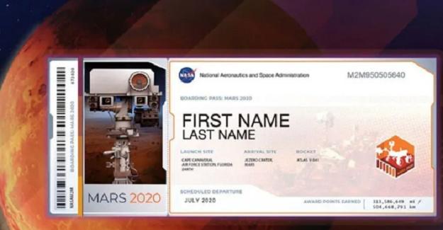 NASA Mars Bileti Nasıl Hazırlanır Ve Nasıl Alınır? Marsa İsim Yollama İşlemleri
