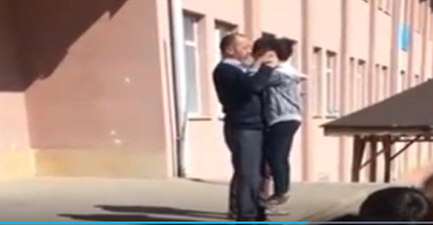 Okulda Yaşanan Skandal Görüntülerin Ardından Okul Müdürü Görevden Alındı