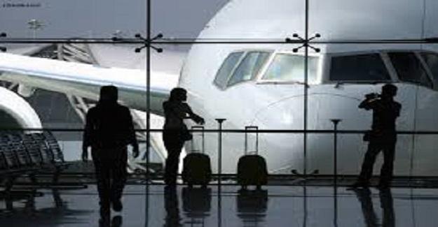 Olay New York havalimanında gerçekleşti.