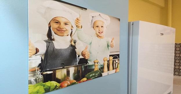 Sincan İMKB ilköğretim okulu, öğrenciler için mutfak beceri atölyesi tasarladı