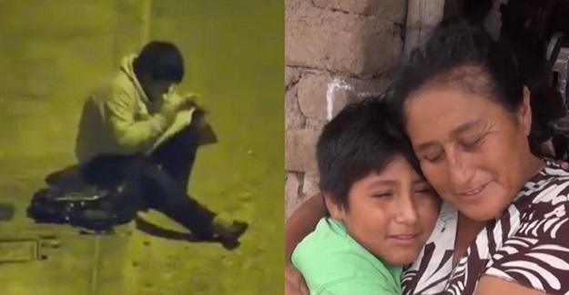 Sokak Lambasının Altında Ders Çalışan Çocuğun Hayatı Bir Milyoner Sayesinde Değişti