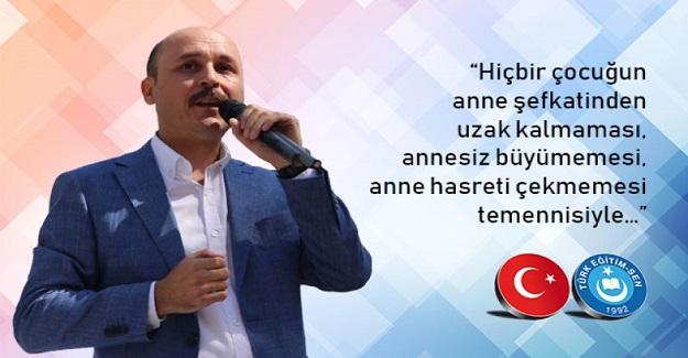 """TALİP GEYLAN""""ANNELERİMİZ BAŞIMIZIN TACIDIR."""""""