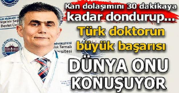 Türk doktor geliştirdiği teknik ile tıp literatürüne girdi.