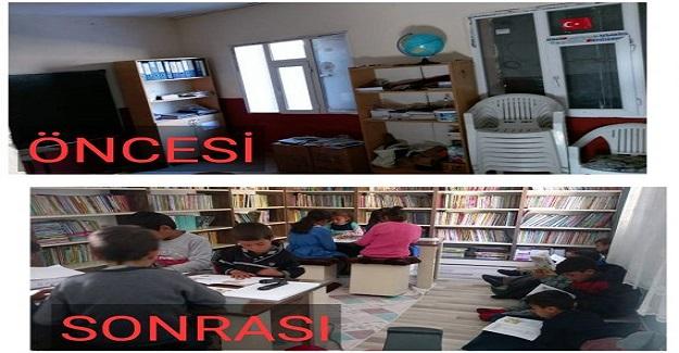 Türkiye okuyor 1 kütüphane kuruyor
