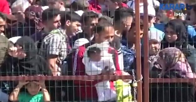 Ülkelerine Bayram Ziyaretine Giden Suriyeliler İzdihama Yol Açtı