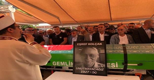 Usta Sanatçı Eşref Kolçak'ın Cenaze Töreninde Büyük Saygısızlık