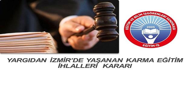 Yargı Karma Eğitim Hakkında Kararını Verdi