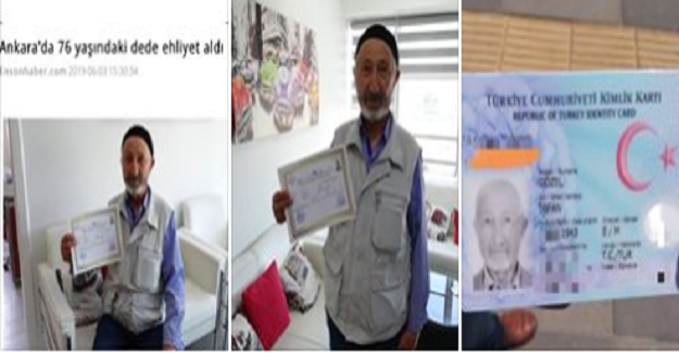 76 Yaşındaki Amca Azmetti Ehliyet Aldı: Bakın Bu Yaştan Sonra Neden Ehliyet Almış.