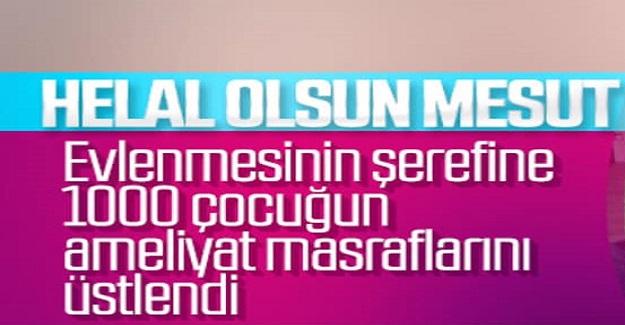 7 Haziran'da Evlenecek olan olan Mesut Özil ve nişanlısından alkışlanacak hareket