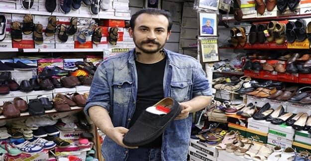 Ataması Yapılmayan Öğretmen, Masaj Ayakkabısı Tasarladı