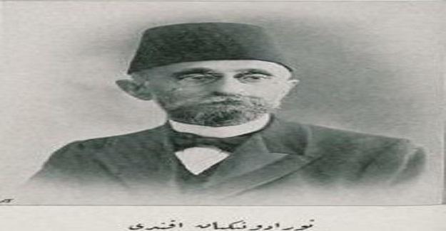 Bir zamanlar'in Dışişleri Bakanı Gabriel Noradunkyan Efendi