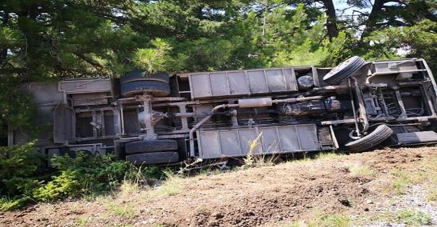 Feci Kaza: Öğretmenleri Ve Çocukları Taşıyan Minibüs kaza Yaptı