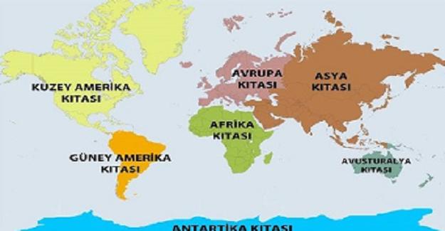 """Kıta İsimleri Neden """"A"""" İle Başlıyor?"""