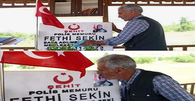 """Şehit Polis Fethi Sekin'in Babası Herkesi Ağlattı: """"Oğlum Bana Gelmedi, Ben Ona Geldim"""""""