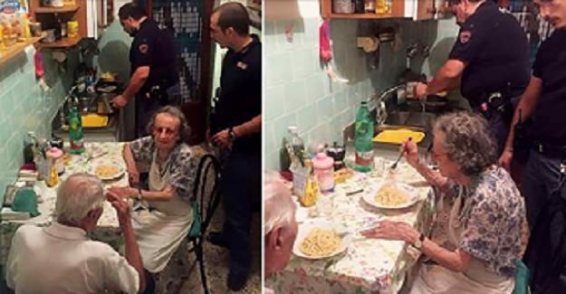 Yaşlı Çiftin Evinden Gelen Ağlama Sesine Polisler Geldi. Sonrası Evin İçinde Yaşananlar Biraz Garip