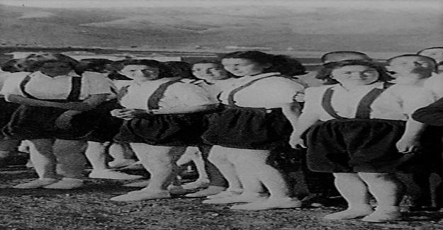 Yıl 1945 Köylerinden ilk kez çıkıp Hasanoğlan Köy Enstitüsüne gelen O OĞULLAR, O KIZLAR