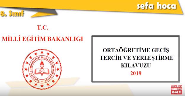 2019 LGS TERCİH NASIL YAPILIR?