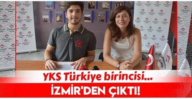 2019 YKS Türkiye Birincisi İzmir'den...