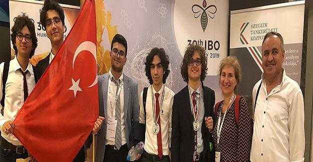 30. Uluslararası Biyoloji Olimpiyatında Ülkemizin Büyük Başarısı