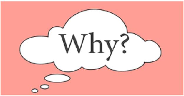 """Hocalardan biri final sınavında sınıfa gelmiş ve sınav sorusu olarak tahtaya, """"Why?"""" (Neden?) yazmış."""