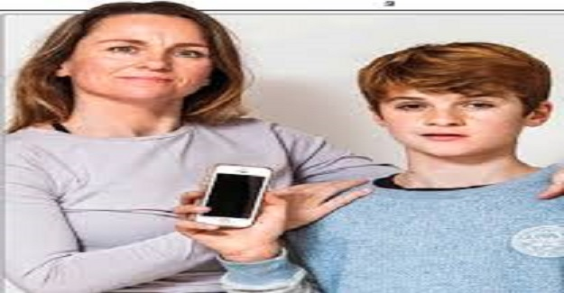 İngiltere'de yaşayan Karly Tophill'in her sabah 13 yaşındaki oğlunu yapışıp kaldığı iPhone'undan koparıp okula hazırlanması için ikna etmesi gerekiyordu.