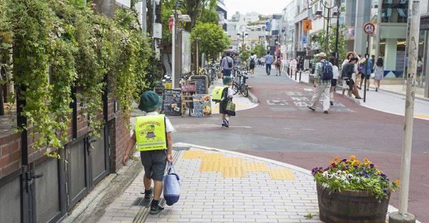 JAPONYA'DA ÇOCUK-TÜRKİYE'DE ÇOCUK