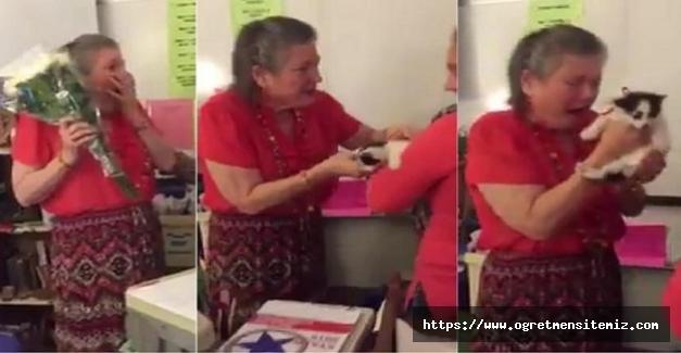 Kedisi Ölen Öğretmene Öğrencilerinden İnanılmaz Sürpriz