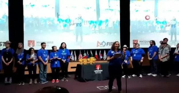 Türk öğrencilerden gururlandıran ödül: Liseli öğrenciler 52 ülke arasından 1'inci oldu