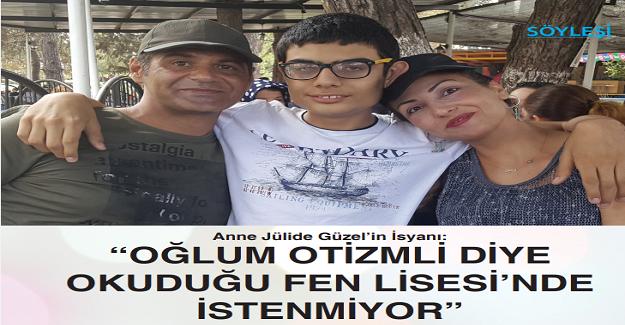 Türkiye'de Fen Lisesi'ni kazanan 2. otizmli öğrenci olan Mert Ünsal