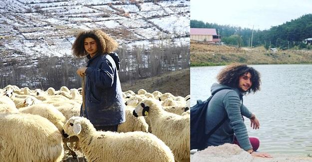 Üniversite Mezunu Duran Bircan, Şehir Hayatını Bırakıp Köyde Çobanlık Yapıyor