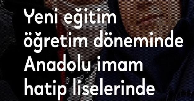 2019-2020 Eğitim Öğretim Yılında Anadolu İmam Hatip Liselerine Yeni Ders Geliyor