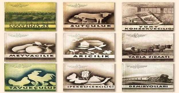 65 Yıl Önce Kapatılan Köy Enstitülerindeki Ders Kitapları!