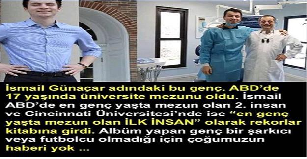 ABD 17 yaşındaki Türk mühendisi konuşuyor!