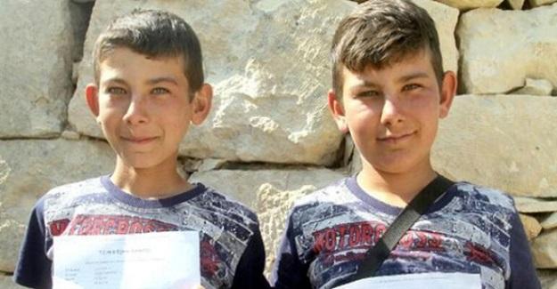 Çobanlık Yapan İkiz Kardeşler LGS'de Fen Lisesini Kazandı