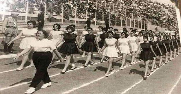 Hasanoğlan Köy Enstitüsü öğrencilerinin bayram hazırlığı...