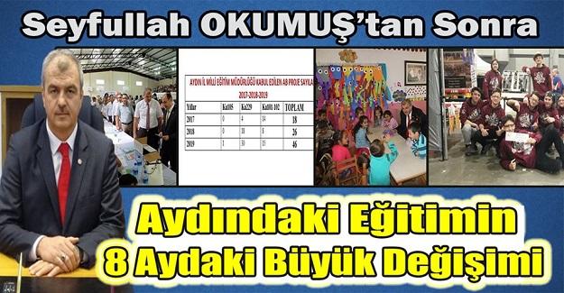 İl MEM Müdürü Seyfullah Okumuş'tan Sonra Aydındaki Eğitimin 8 Aydaki Büyük Değişimi