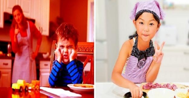 Japon Ebeveynlerinden Çocukları Sakinleştirme Kuralı