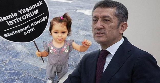 Milli Eğitim Bakanı Ziya Selçuk'un Twitinden Sözleşmeli Öğretmen Dramı Çıktı