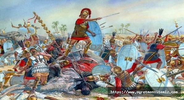 """Tarih öğretmeni çocuğa sormuş: """"Oğlum,Kartaca Savaşı'nı kim yaptı?"""""""