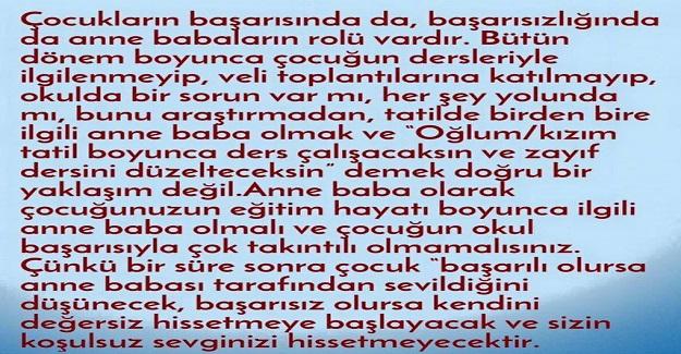 ANNE-BABALARIN EV ÖDEVLERİNDE EN SIK YAPTIĞI HATALAR ve YAPMASI GEREKENLER...